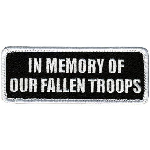 Hot Leathers In Memory Fallen Troops Patch (4