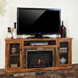 "Sedpna 70"" TV Stand with Electric Fireplace"