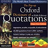 Product B0002BQQX2 - Product title Oxford Dictionary of Quotations Fifth Edition