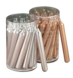 #!Cheap Biedermann & Sons 20 Gold Metallic Chime Or Tree Candles
