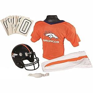 Franklin Sports NFL Denver Broncos Youth Licensed Deluxe Uniform Set, Large