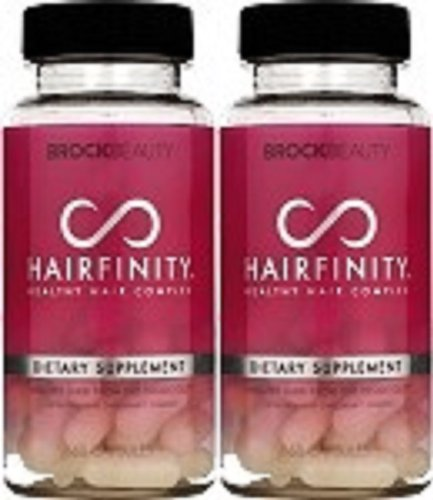 2 Months Hairfinity Vitamins Healthy Hair Rapid Long Hair Growth - Pack of 2 -