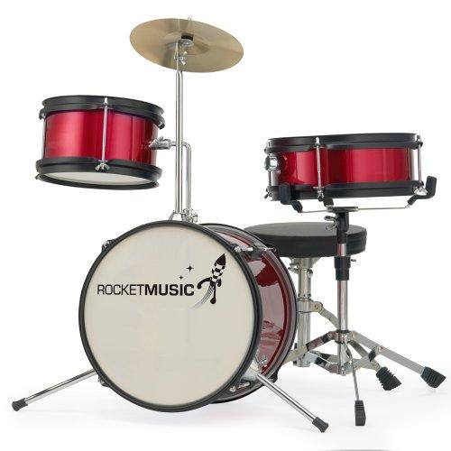 rocket-dkj01rd-3-piece-junior-drum-kit