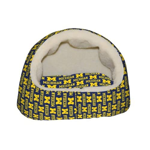 dog bed-Michigan Wolverines CAT BED : Pet Beds : Pet Supplies