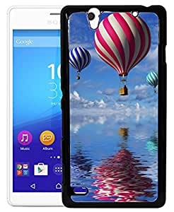 Toppings 2D Printed Designer Hard Back Cover For Sony Xperia C4 Design-10010