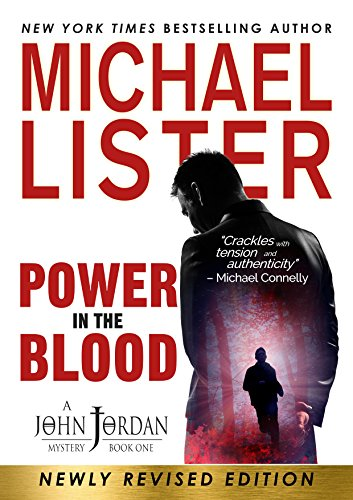 A conflicted ex-cop who now wears a clerical collar investigates a baffling case of murder, in  Power In The Blood by Michael Lister