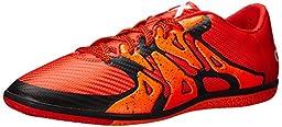 adidas Performance Men\'s X 15.3 IN Soccer Shoe, Bold Orange/White/Solar Orange, 13 M US