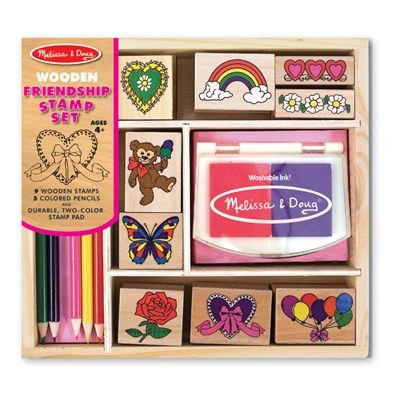 Melissa & Doug Friendship Stamp Set back-364664
