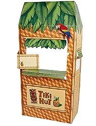 Jungle Party Tiki Hut Cardboard Cutout Standee - 5.5 Tall
