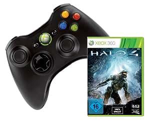 Xbox 360 Wireless Controller + Halo 4 - [Xbox 360]