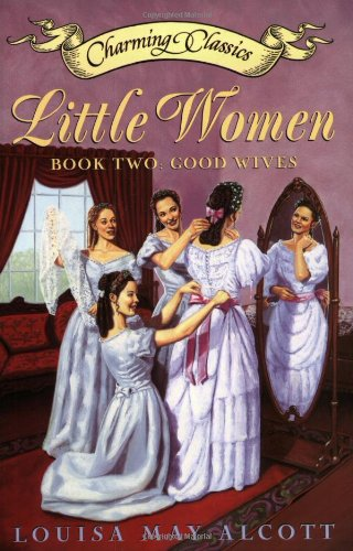 a summary of the two parts of little women by louisa may alcott
