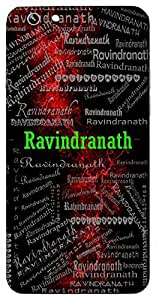 Ravindranath (Lord Vishnu) Name & Sign Printed All over customize & Personalized!! Protective back cover for your Smart Phone : Samsung Galaxy E5