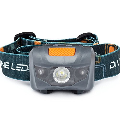 The BRIGHTEST LED Headlamp - Adjustable Head & Strap -