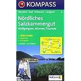 """N�rdliches Salzkammergut: Wolfgangsee, Attersee, Traunsee. Wander-, Rad-, Skitouren- und Langlaufkarte. Mit Panorama. GPS-genauvon """"Kompass"""""""