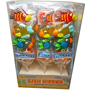Amazon.com : Jelly Candy Fish Kabob 12ct : Gummy Candy : Grocery