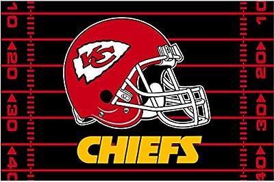 "The Northwest Company Northwest NFL Kansas City Chiefs 39""X59"" Rugs"