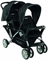 Graco Stadium Duo Tandem Pushchair (Black, 0 - 36 Months) from Graco