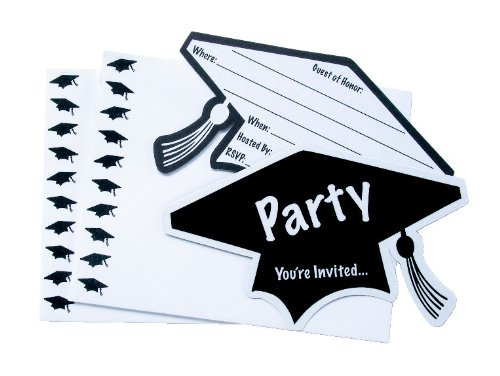 WeGlow International Graduation Party Invitations,