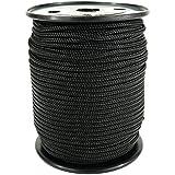 PP Seil Polypropylenseil SH 3mm 100m Farbe Schwarz (1811) Geflochten