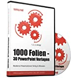 "1000 Folien - 3D PowerPoint Vorlagen - Farbe: spicy.red: Moderne Pr�sentationen f�r  Business, Kommunikation, Marketing, Vertrieb, Verkauf, Sales, ... - f�r Microsoft PowerPoint und Apple Keynotevon ""Future Pace Media"""