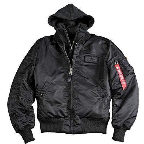 Alpha Ind. Jacke MA-1 D-Tec SE – black/black S-3XL online bestellen