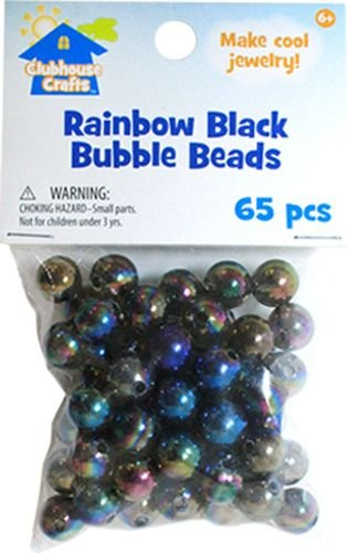 Sulyn Rainbow Black Bubble Beads - 1