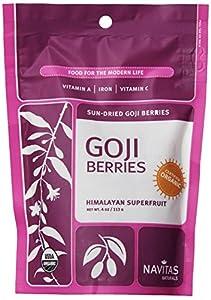 Navitas Naturals Goji Berries, 4-Ounce