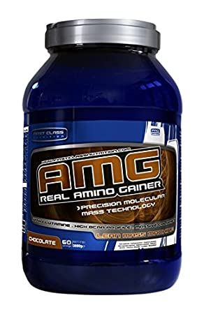 First Class Nutrition AMG Gainer 3 kg Chocolate, 1er Pack (1 x 3 kg)