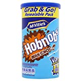 Mcvitie's Milk Chocolate Hobnobs - Case of 12 X 250 Gram Tubes