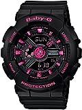 カシオ CASIO ベビーG BABY-G アナデジ レディース 腕時計 BA-111-1A ブラック[並行輸入品]