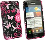 Kit Me Out ES Funda de gel TPU para Samsung Galaxy S2 i9100 - Jardín rosa