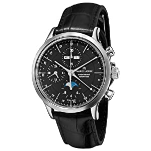 Maurice Lacroix Men's LC6078-SS00133E Les Classiqu Black Dial Automatic Watch