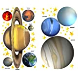 Planets and Stars Outerspace Wall Stickers