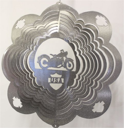 Stainless Steel Wind Spinner, 12