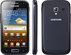 Samsung Galaxy Ace 2 in Black on O2 Pay as you go / Pre-Pay / PAYG (Including £10 Airtime)