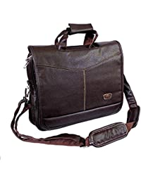 "AYS Stylish 15.6"" Smart Messenger Laptop Sleeve Sling Office Bag"