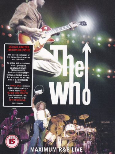 The Who - Maximum R&B live(deluxe limited edition)