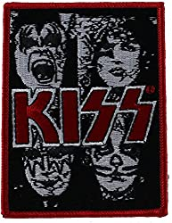 Application Kiss B/W Close Up With Logo Patch