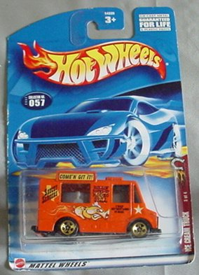 Hot Wheels Ice Cream Truck Wild Frontier Series 3 of 4 #057 #57 2002 - 1