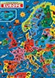Europe Map Jigsaw Puzzle by James Hamilton Grovely