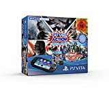 PS Vita - Konsole Black WiFi / 8GB Speicherkarte / Mega Pack Action