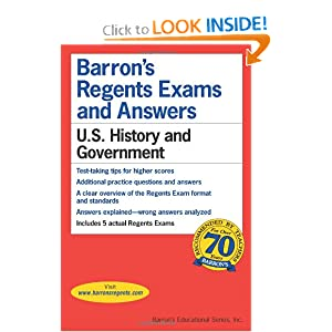 U.S. History and Government (Barron's Regents Exams and Answers) by Resnick