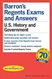 img - for U.S. History and Government (Barron's Regents Exams and Answers) book / textbook / text book
