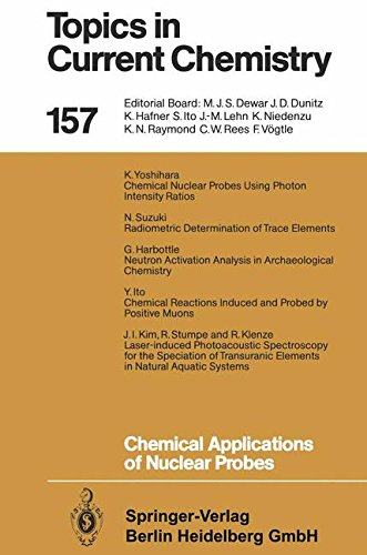 Chemical Applications Of Nuclear Probes (Topics In Current Chemistry) (Volume 157)