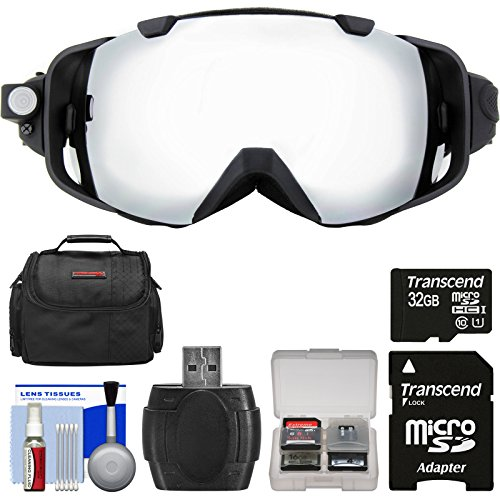 Coleman VisionHD G9HD-SKI 1080p HD Action Video Camera Camcorder Waterproof POV Snow and Ski Goggles with 32GB Card + Case + Reader + Kit (Coleman Hd Goggles compare prices)