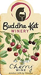 NV Buddha Kat Winery Cherry Wine 750 mL