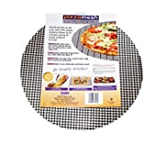 Pizzamesh 12.5 Inch Round, Non-Stick Reusable Pizza Baking/Crisping Mesh