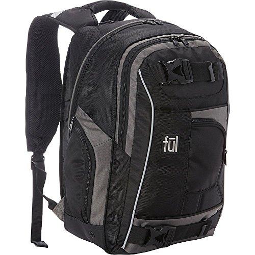 ful-travel-laptop-backpack-black-grey