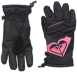 Roxy SNOW Junior's Popi Snow Gloves, Anthracite, Medium