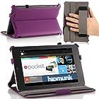 MoKo Slim-fit Case for Google Nexus 7 Android Tablet (Purple)